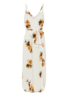 A.L.C. Marin Floral Wrap Dress