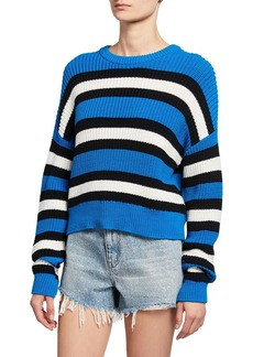 A.L.C. Matthews Striped Pullover Sweater