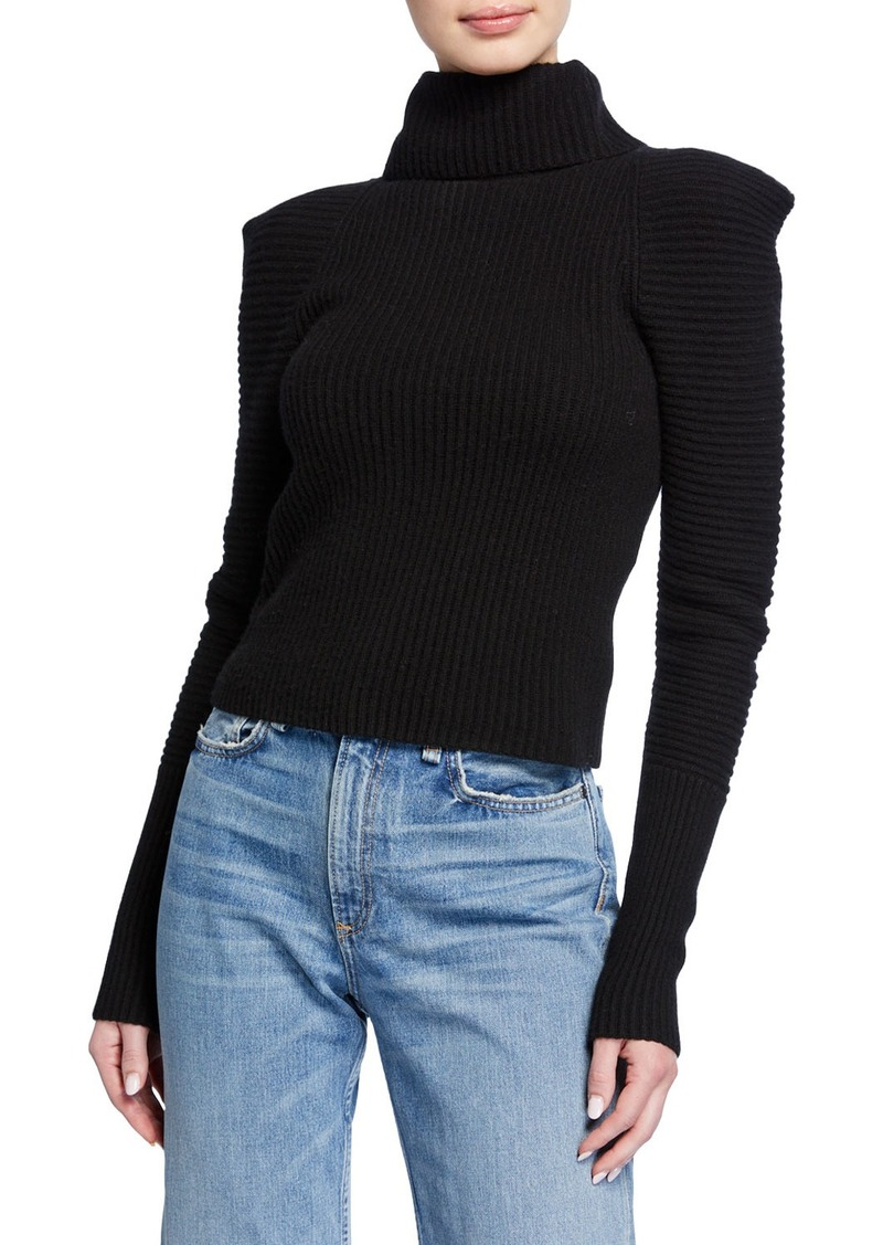 A.L.C. Maura Ribbed Turtleneck Sweater