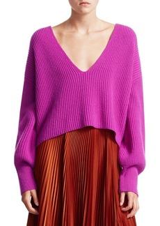 A.L.C. Melanie Crop Wool Knit