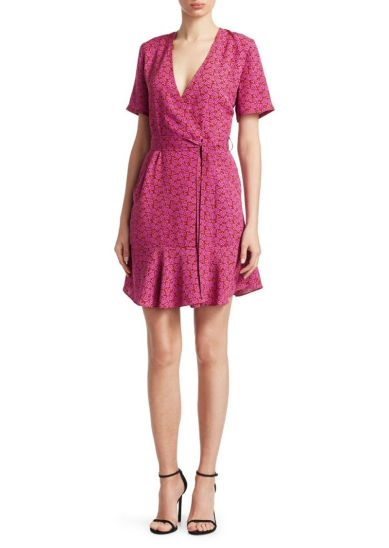 A.L.C. Micah Printed Wrap Dress