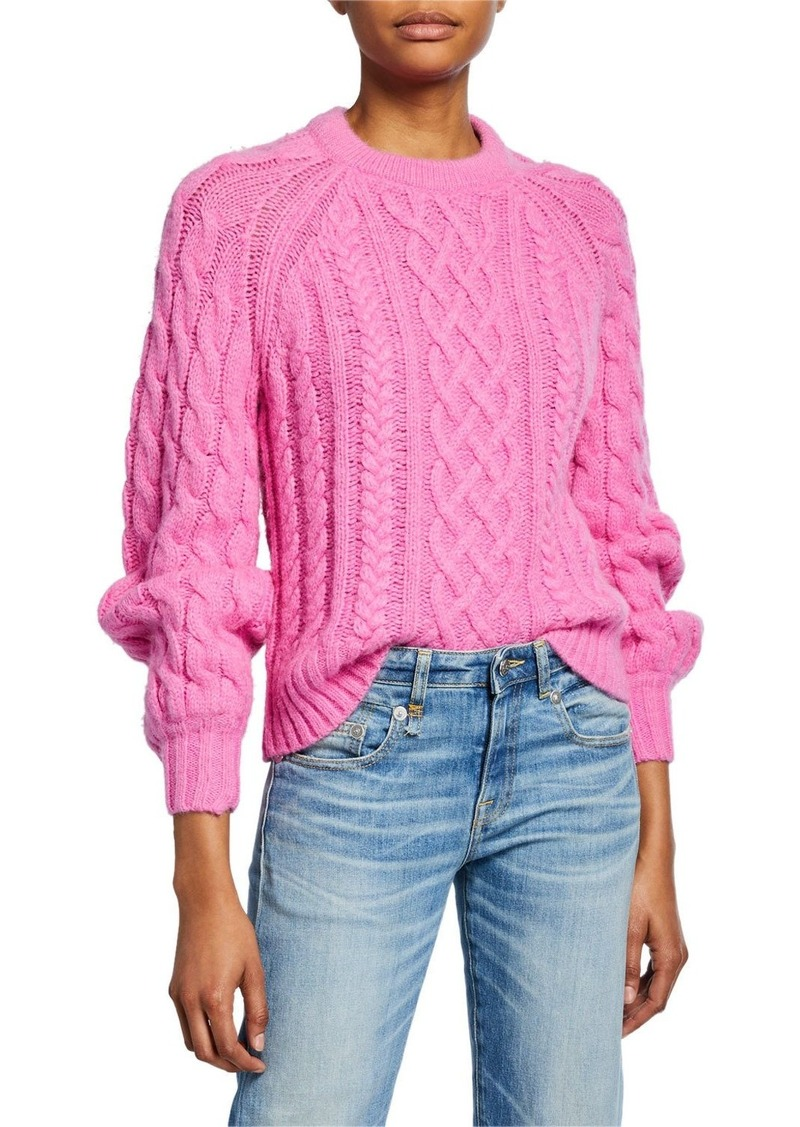 A.L.C. Mick Cable-Knit Sweater