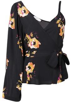 A.L.C. Mickalean floral blouse