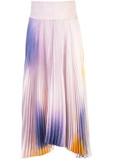 A.L.C. micro pleated midi skirt