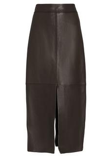 A.L.C. Moss Vegan Leather Skirt