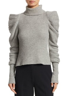 A.L.C. Moy Cashmere & Wool Turtleneck Sweater