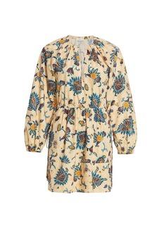 A.L.C. Myra Paisley Shift Dress
