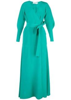 A.L.C. Nakia wrap style long dress