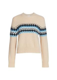 A.L.C. Nathan Diamond Knit Sweater