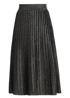 A.L.C. Nevada Lurex Knit Midi Skirt