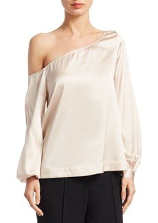 A.L.C. Nevia One-Shoulder Blouse