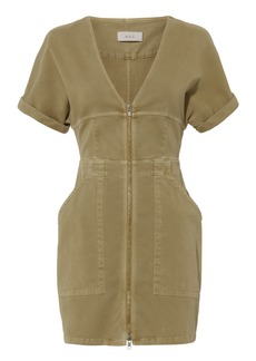 A.L.C. Novak Cotton Twill Zip Dress