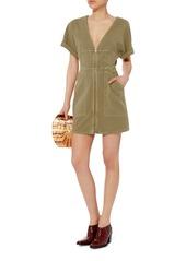 A.L.C. Novak Cotton Twill Zip Dress