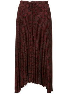 A.L.C. pleated asymmetric skirt