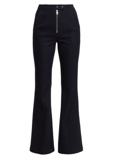 A.L.C. Ray Front-Zip Flare Pants