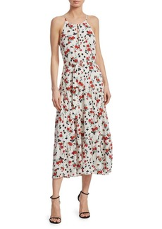 A.L.C. Richards Floral Midi Dress