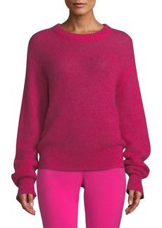 A.L.C. Riva Mohair-Blend Crewneck Sweater