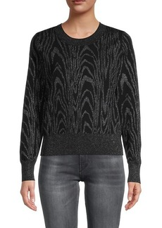 A.L.C. Roundneck Printed Sweater
