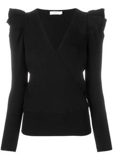 A.L.C. ruffle shoulder sweater