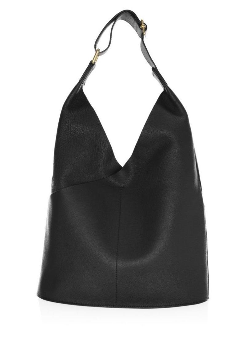 A L C Sa Leather Hobo Bag Handbags