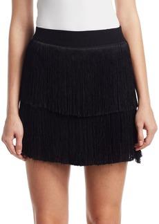 A.L.C. Santiago Fringe Mini Skirt
