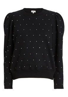 A.L.C. Saunders Crystal-Embellished Sweatshirt