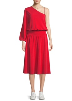 A.L.C. Shara One-Sleeve Midi Dress