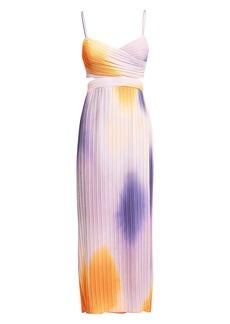 A.L.C. Sienna Ombré Pleated Dress