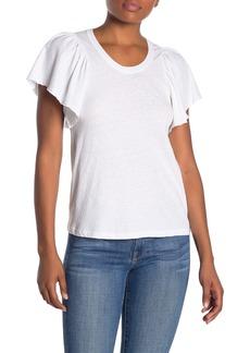 A.L.C. Simone Flutter Sleeve T-Shirt