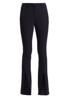 A.L.C. Slim-Fit Conway Straight-Leg Front Slit Pants