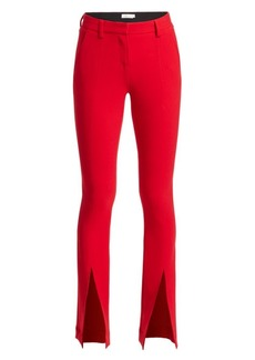 A.L.C. Slim-Fit Conway Straight-Leg Front Slit Pants