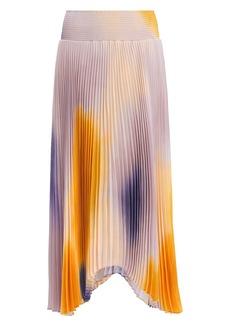A.L.C. Sonali Ombré Midi Skirt