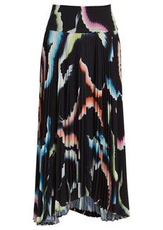 A.L.C. Sonali Pleated Midi Skirt