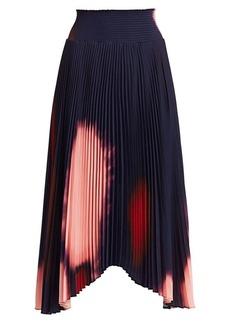 A.L.C. Sonali Tie-Dye Pleated Skirt