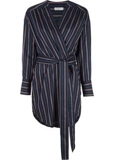 A.L.C. striped wrap dress