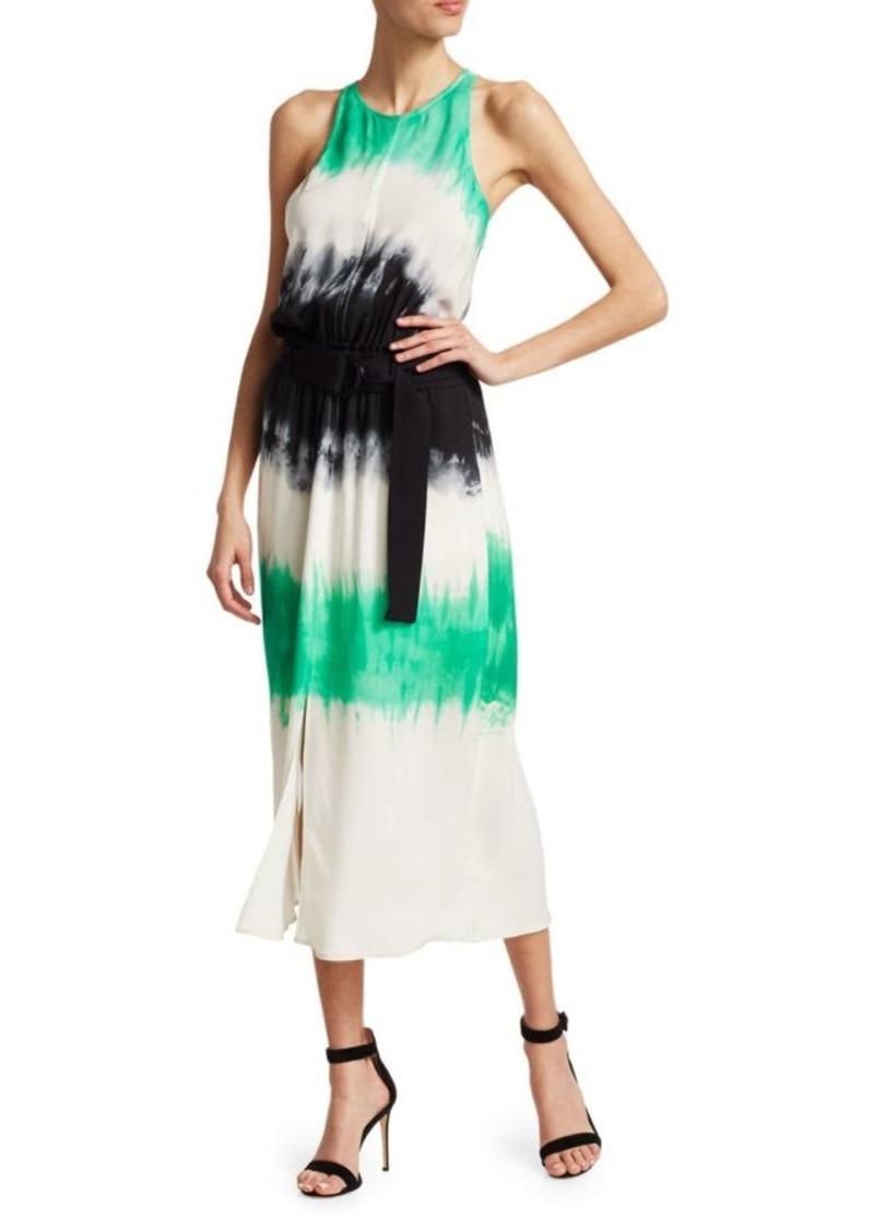 A.L.C. Tallulah Tie-Dye Silk Maxi Dress