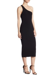 A.L.C. Theo One-Shoulder Knit Dress