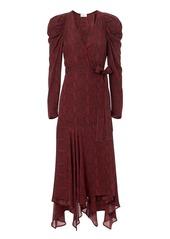 A.L.C. Tianna Snake Print Dress
