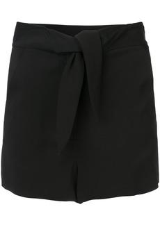 A.L.C. tie front shorts