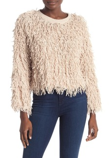 A.L.C. Toby Fringe Knit Sweater