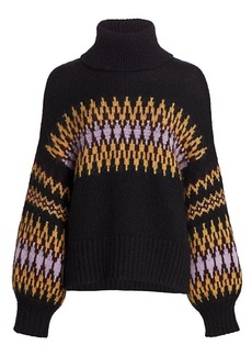 A.L.C. Tracey Fairisle Sweater