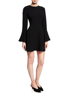 A.L.C. Trixie Flare-Sleeve Dress