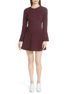 A.L.C. Trixie Flare Sleeve Dress