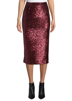 A.L.C. Val Sequined Pencil Skirt