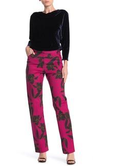 A.L.C. Vaughn Floral Wool Blend Trousers
