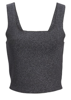 A.L.C. Victoria Metallic Knit Tank Top