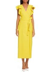 A.L.C. Walker Midi Wrap Dress
