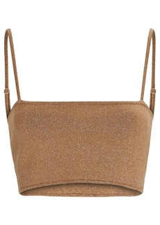 A.L.C. Winnie Knit Crop Top