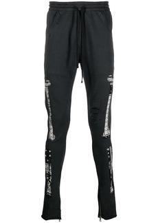 Alchemist bandana-print ripped track-pants