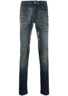 Alchemist patch-embellished skinny jeans